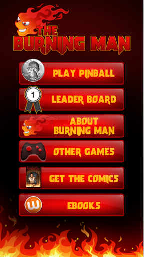 【免費街機App】The Burning Man Pinball Game-APP點子