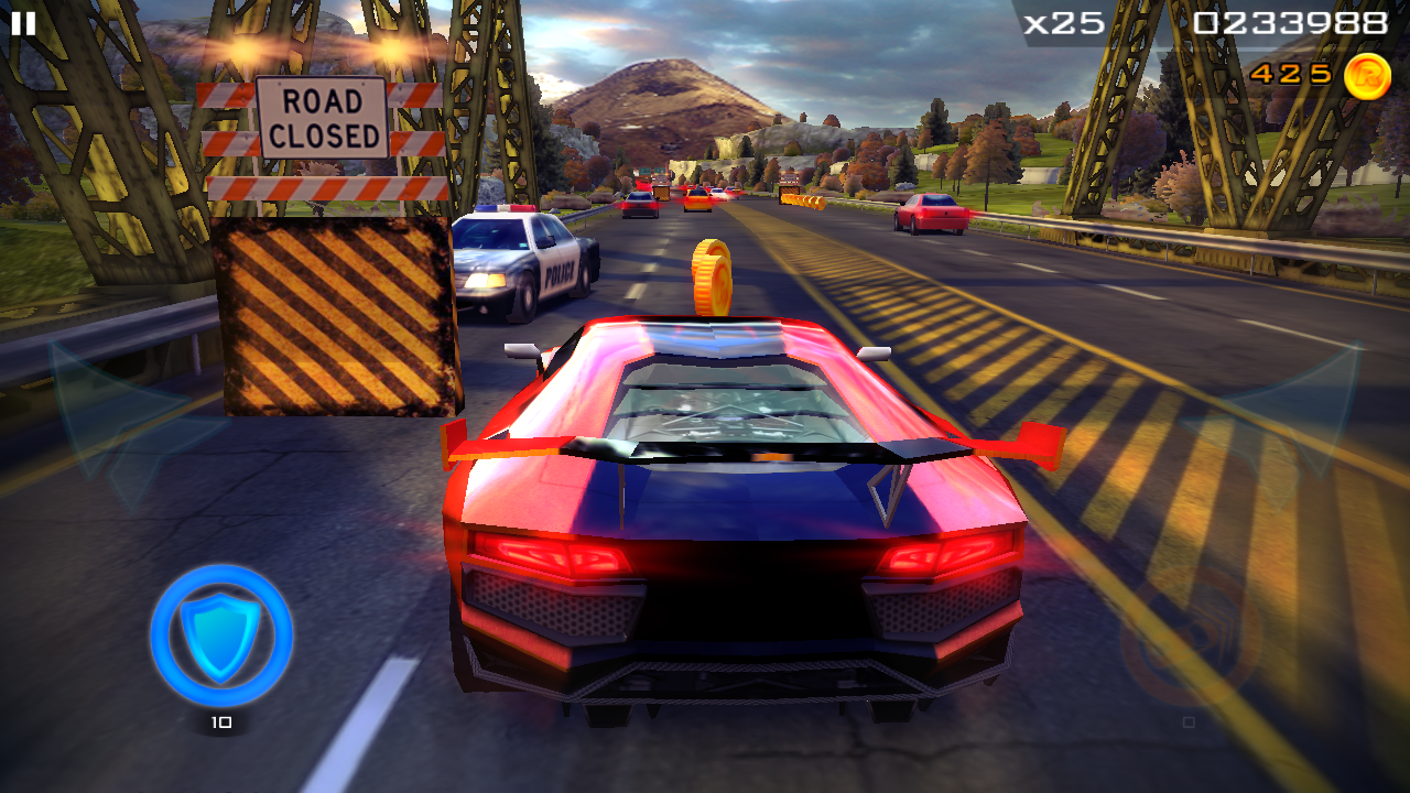 Redline Rush: Police Chase Racing- screenshot