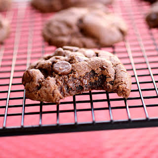 Double Chocolate Peanut Butter Cookies.