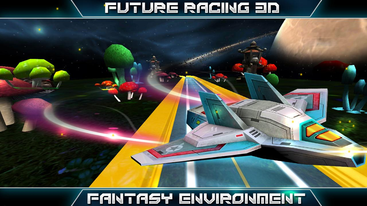FUTURE RACING 3D- screenshot