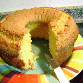 Rice Flour Orange Cake.