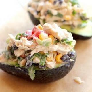 Creamy Avacado Chicken Salad