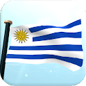 Uruguay Flag 3D Live Wallpaper icon