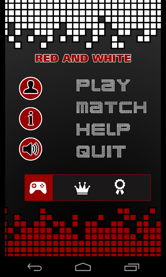 Red and White- screenshot