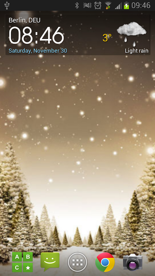 Christmas wallpapers - screenshot