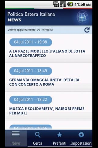 Politica Estera Italiana- screenshot