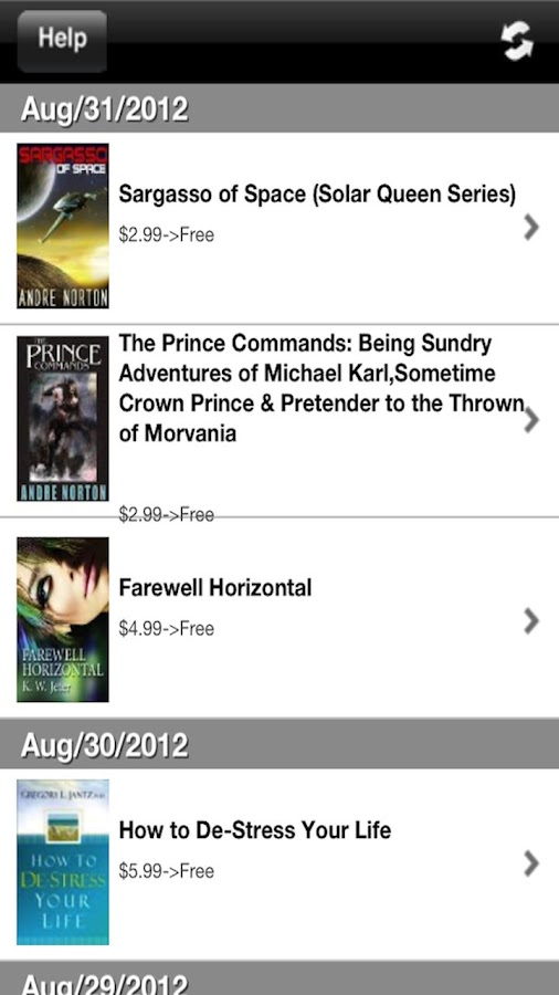 Free Books for Kindle - screenshot
