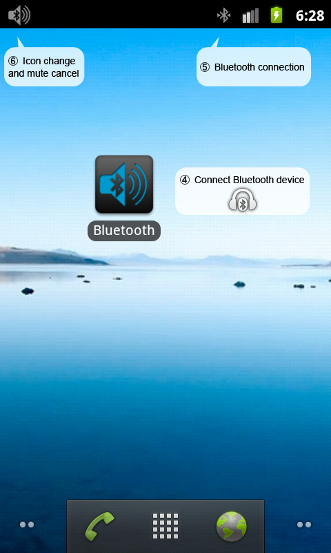 Bluetooth Switch and Mute- screenshot