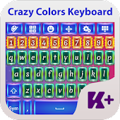 Crazy Colors Keyboard Theme
