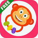 Rattle toy for babies Free icon