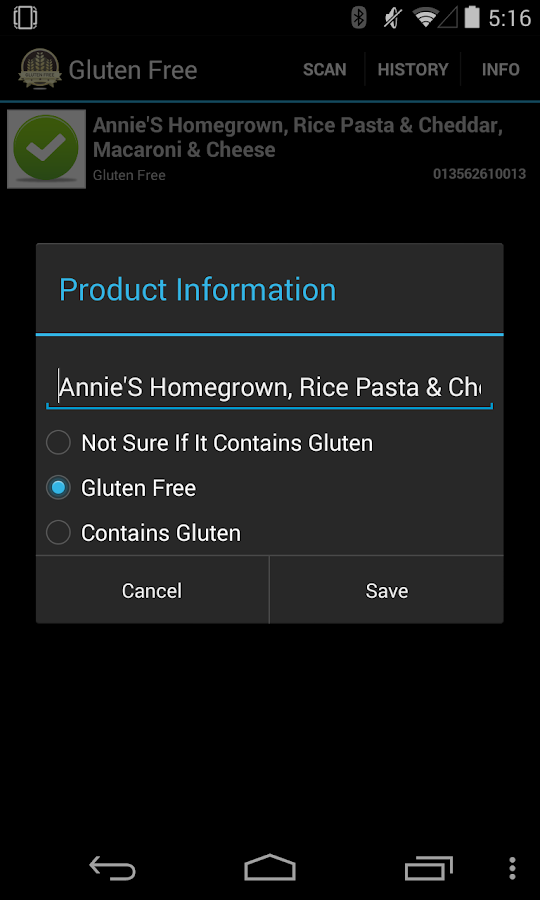 Gluten Free Freedom- screenshot