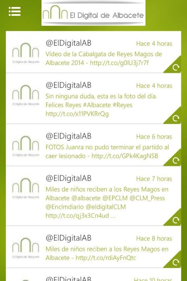 El Digital de Albacete- screenshot