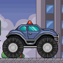 Cop truck rider - racing game icon