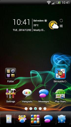 SAMOLED GO Launcher EX Theme