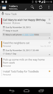 TodoToday Pro for Toodledo - screenshot thumbnail