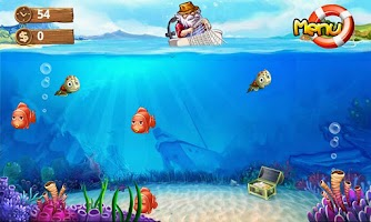 Screenshot of Crazy Fishing(FREE)