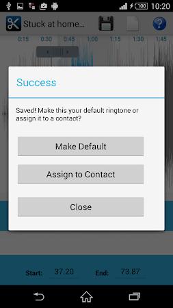 MP3 Cutter Ringtone Maker Free 5 screenshot 44672