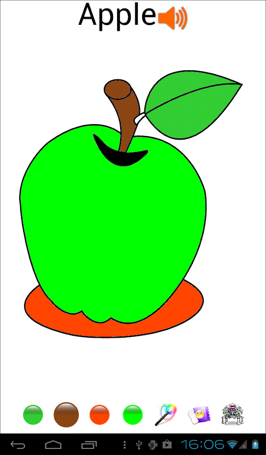 Fruit Coloring Pages- screenshot