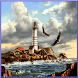 Lighthouse Waves Live Wallpape