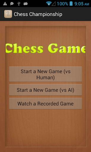 The Chess Championship