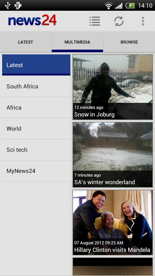 News24 - screenshot