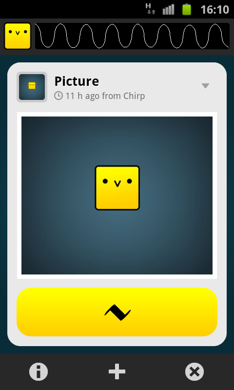 Chirp- screenshot