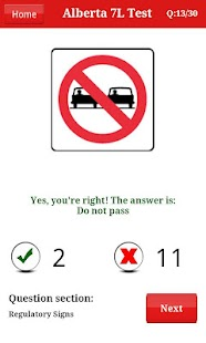 【免費教育App】Alberta Class 7 Test-APP點子