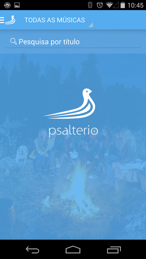 Psaltério - screenshot