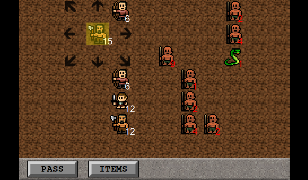 Huungree RPG- screenshot