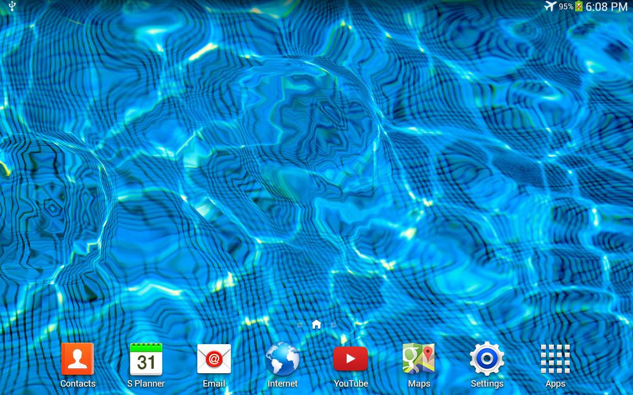 Water Drop Live Wallpaper - screenshot