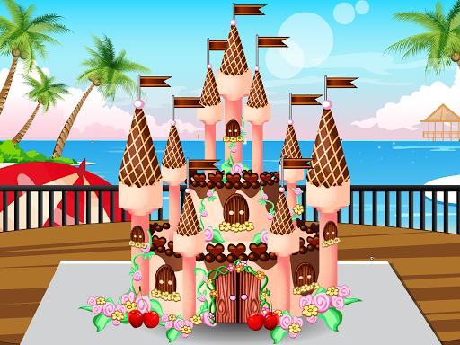 巧克力城堡蛋糕