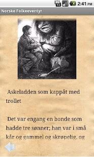 Norske Folkeeventyr- screenshot thumbnail
