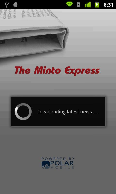 Minto Express - screenshot