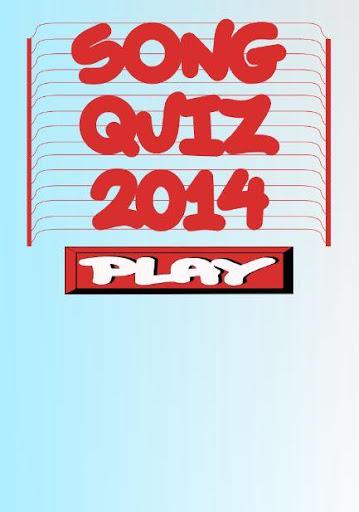 Song Quiz 2014