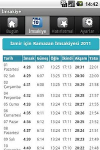 İmsakiye screenshot 4