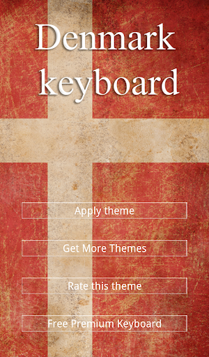 Denmark Keyboard Theme