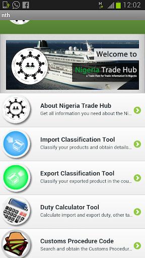 Nigeria Trade Hub Mobile App