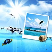 Free Blue Sea Theme