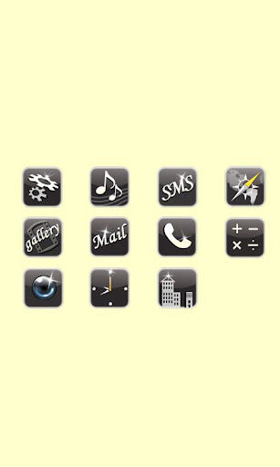 CUKI Theme Black Luxury Icon