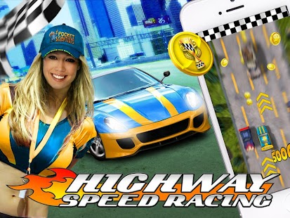 Highway Speed Racing Game