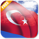 3D Turkey Flag Live Wallpaper icon