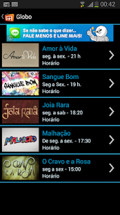 Resumo de Novelas - screenshot thumbnail