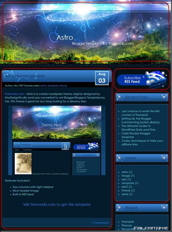 Astro Template 2