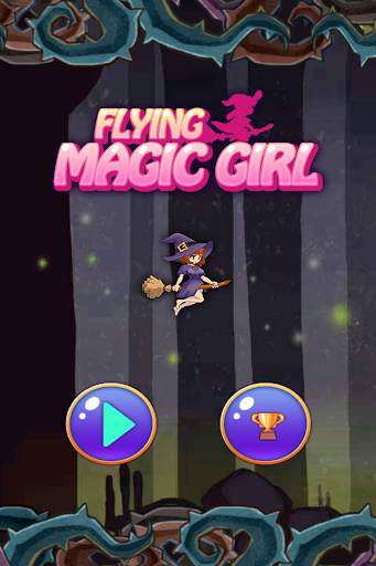 Flying Magic Girl