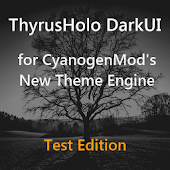 DarkUI ThyrusHolo Theme Basic