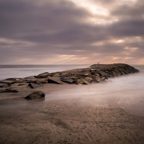 Light by Ricardo  Guimaraes - Landscapes Waterscapes ( contrast, smooth, warm, waterscape, fish, sunset, beach, portugal, landscapes, light, , relax, tranquil, relaxing, tranquility, #GARYFONGDRAMATICLIGHT, #WTFBOBDAVIS )