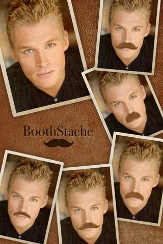 BoothStache- screenshot
