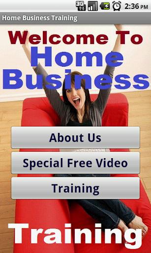 in Home Business Biz