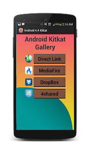 New Update Android 4.4 Kitkat - screenshot thumbnail