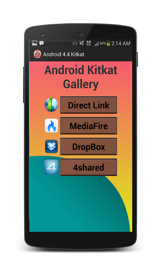 New Update Android 4.4 Kitkat - screenshot
